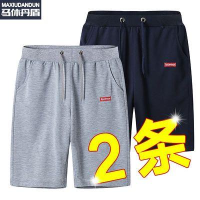 冰丝短裤男宽松运动裤男士五分裤休闲裤子男夏天薄款沙滩中裤男潮