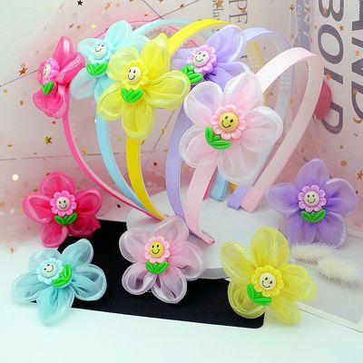 日韩公主发箍防滑带齿甜美超仙小女孩发饰品花朵发带儿童可爱头箍