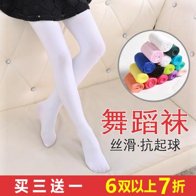 韩版可爱女童连裤袜春夏薄款丝袜儿童打底袜5小女孩袜子7-9岁