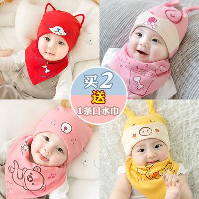 宝宝帽子冬女0一1岁潮婴儿公主可爱毛线韩国2-3秋季男童6-24月