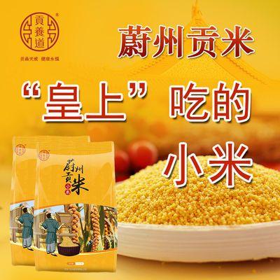 蔚州贡米新小黄米2.5斤黄小米宝宝孕妇吃的五谷杂粮油小米粥粗粮