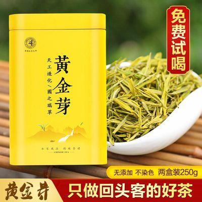 安吉白茶黄金芽明前特级2020春茶新茶250g罐装浙江正宗珍稀绿茶叶
