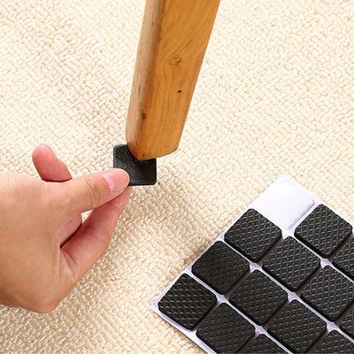 【多尺寸】防滑桌脚垫自粘静音家具椅子桌椅凳子床脚垫地板保护垫