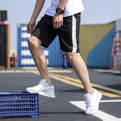 夏天速干短裤男士5分裤夏季轻薄运动裤8XL加肥加大码大裤衩篮球裤