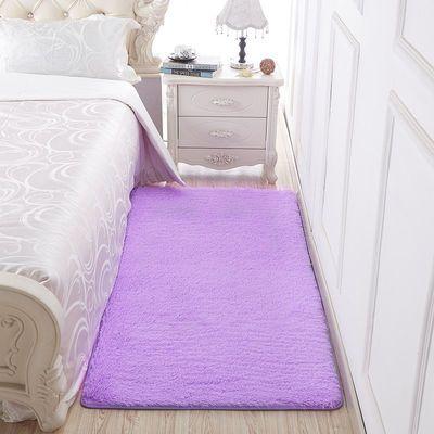 澳之羊长毛绒圆形地毯地垫仿羊毛电脑椅子毛毛圆地毯卧室床边毯白
