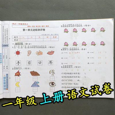 人教版一年级上册语文书同步试卷1年级上学期单元期中期末练习题