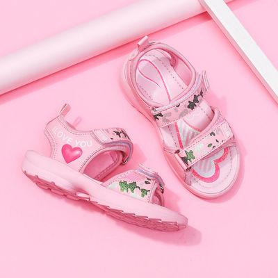 TThorsee女童凉鞋中大童公主鞋小学生儿童凉鞋女时尚女孩童鞋