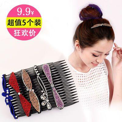 韩国珍珠发夹儿童发夹成人头饰卡子夹边夹一字夹网红发卡夹