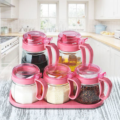 家用控油防漏玻璃油壶大号厨房醋壶油罐调料瓶酱油瓶料酒瓶香油瓶