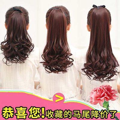 七街皇后金色假发女长发自然奶茶三色长卷发可爱网红渐变色中长发