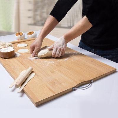乌檀木切菜板木砧板长方形菜墩加厚整木大小号厨房家用案板