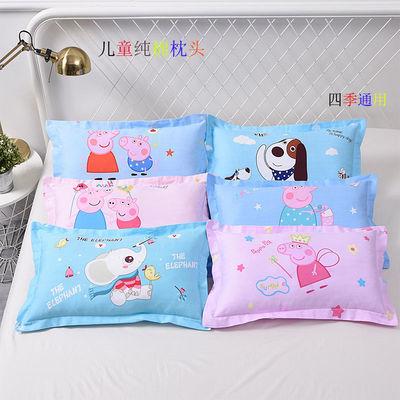 2019新款婴儿纯棉枕头儿童纯棉枕头套宝宝卡通动漫纯棉枕套+枕芯