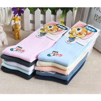 六指鼠童袜儿童袜子春夏季男童女童纯棉薄款白色全棉网眼袜子