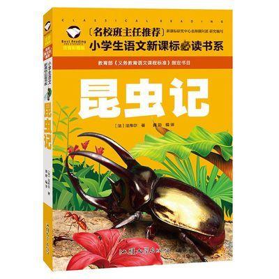 昆虫记彩图注音版名校班主任推荐小学生语文新课标必读书系
