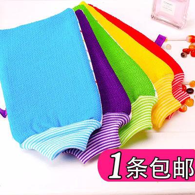 韩国加厚沐浴手套洗澡巾搓澡巾搓泥去灰磨砂浴花搓背神器