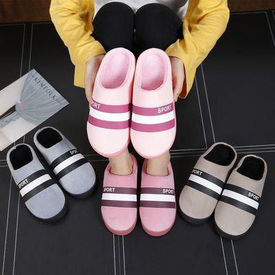 儿童男女宝宝棉鞋1-3岁秋冬季男宝家居棉拖鞋包跟带后跟2小孩女孩
