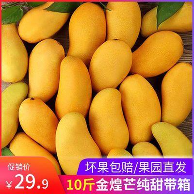 广西甜心芒金煌芒10斤单果【150-400g】大青芒5/3斤当季新鲜水果