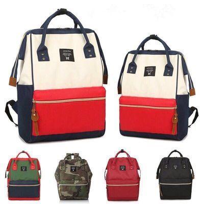 日本学生书包韩版双肩包男女防水帆布背包中小学生大容量旅行包
