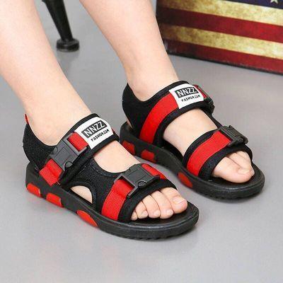 凉鞋童鞋男童沙滩鞋5女童10男孩儿童鞋子7软底8防滑9沙滩鞋4-12岁