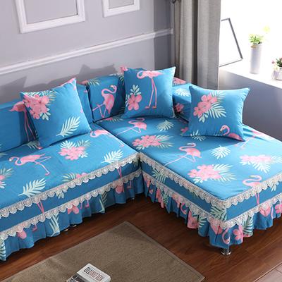 沙发套全包万能套沙发巾全盖布组合贵妃沙发罩防滑沙发垫四季通用