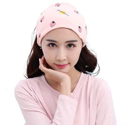 孕想事成新款孕产妇棉月子头巾防风护头保暖洗脸化妆束发头箍TJ17