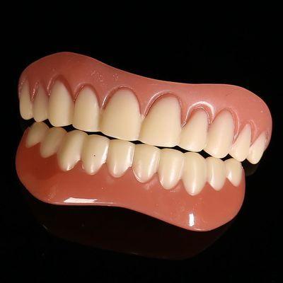 Instant Perfect Snap on Smile Teeth Veneers 上下假牙仿真牙