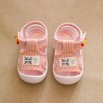宝宝凉鞋夏0-1-2岁男女婴儿鞋小童软底鞋防滑春季学步鞋防踢凉鞋