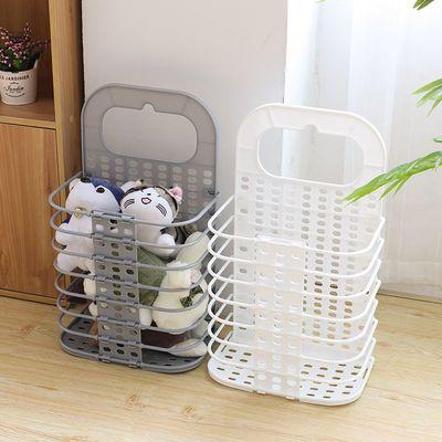 折叠式脏衣篮壁挂洗衣篮家用塑料脏衣篓浴室卫生间收纳篮衣物收纳