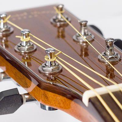 吉他弦民谣吉他琴弦一套吉他一弦木吉他弦彩弦磷铜弦彩色钢丝弦