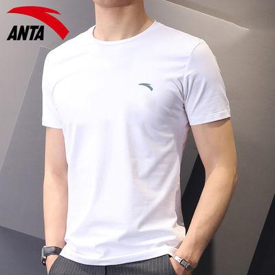 40089/安踏短袖T恤男装2021夏季新款吸汗透气跑步健身上衣正品运动服男