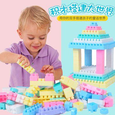 【送雪花片】儿童积木大颗粒塑料拼搭拼插拼装早教益智幼儿园玩具