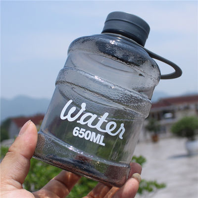 韩式创意迷你塑料水桶杯时尚个性潮流男女学生水瓶便携大容量水杯