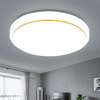 LED圆形吸顶灯卧室灯现代简约客厅灯房间灯书房阳台厨房餐厅灯具【4月3日发完】