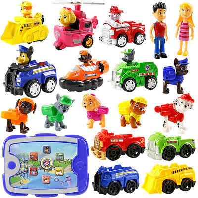 汪汪队立大功玩具 汪汪队玩具 儿童玩具巡逻汪汪队汽车旺旺队套装