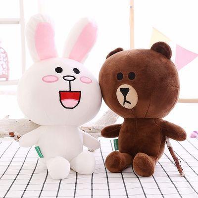 可爱兔子玩具女白兔布娃娃儿童萌抱枕生日礼物小玩偶公仔女孩主图