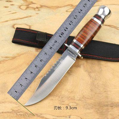 【抢购品】户外刀具求生军刀直刀小刀高硬度随身荒野求生户外