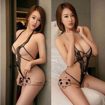 性感绳衣极度诱惑情趣透明蕾丝绑带开裆内衣女骚露背变态套装