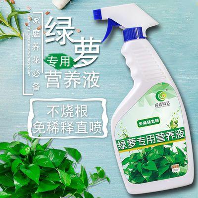 高值绿萝营养液植物通用抗黄叶花卉肥料营养土绿萝盆栽多肉植物