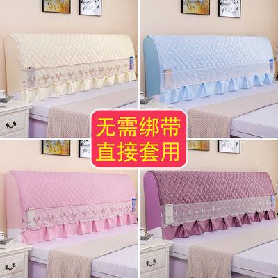 全包弹力床头罩床头套防尘罩可拆洗欧式床头靠垫软包皮床头柜盖巾