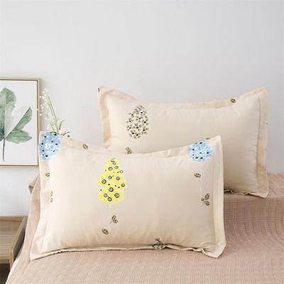 包邮 枕套一对 多色可选单人48*74cm加大枕头套枕芯套42*70cm枕套