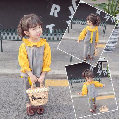 女宝宝春装2020新款小童婴幼儿洋气女童春秋套装时尚时髦上衣套装