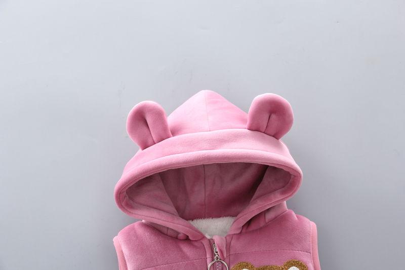 寶寶加絨加厚衛衣三件套裝嬰兒童裝秋冬季男童0-4歲女童冬裝夾棉【10月15日發完】@tg18166