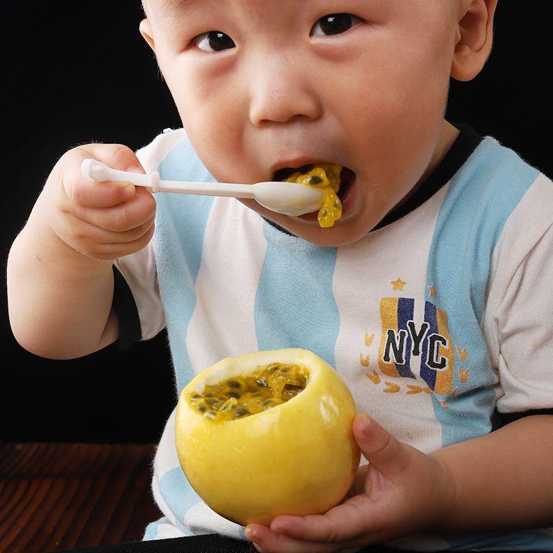 【16.8元抢10000件,抢完恢复48.8元】台湾黄金百香果大果5斤3斤12个热带孕妇新鲜水果黄色皮鸡蛋果批发_7
