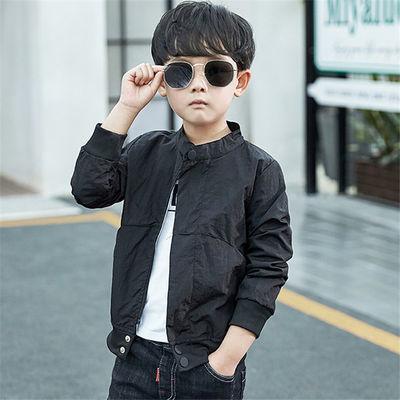 童装男童春装上衣服外套2020新款春秋季儿童韩版休闲夹克衫薄款潮