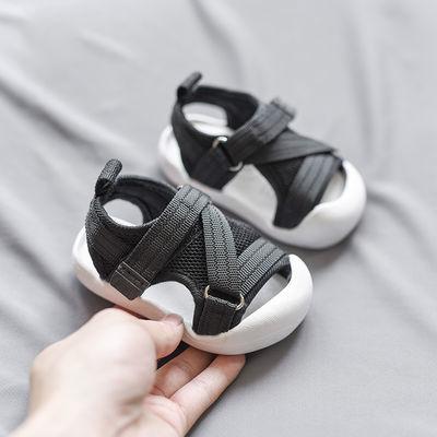 宝宝凉鞋1-3岁防滑软底男小童网面透气鞋2婴幼儿软底学步鞋女宝宝