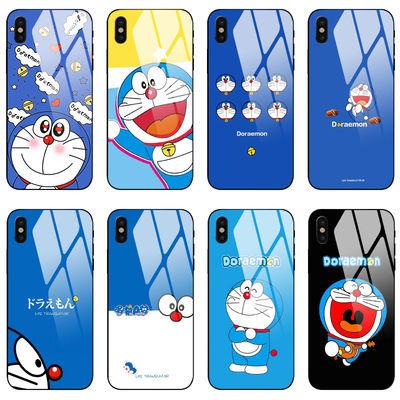 哆啦A梦iPhone手机壳XS Max/XR苹果X机器猫8plus7套6s玻璃iPhonex