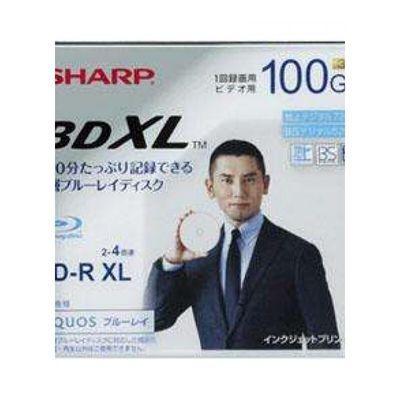 品质SHARP夏普 BD-R XL 100G蓝光刻录盘BD100G光盘