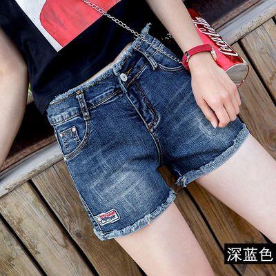 高腰牛仔短裤女夏2020新款显瘦百搭弹力修身韩版时尚学生阔腿热裤