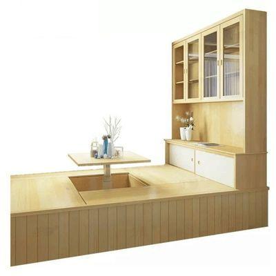 实木榻榻米现场测量/实木家具现场测量/实木榻榻米设计