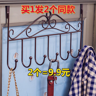 挂钩粘胶免钉壁挂衣架门后钩子承重墙壁粘钩浴室厨房创意吸盘